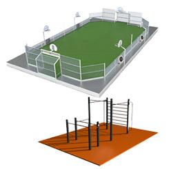 Aménagement terrains multisport